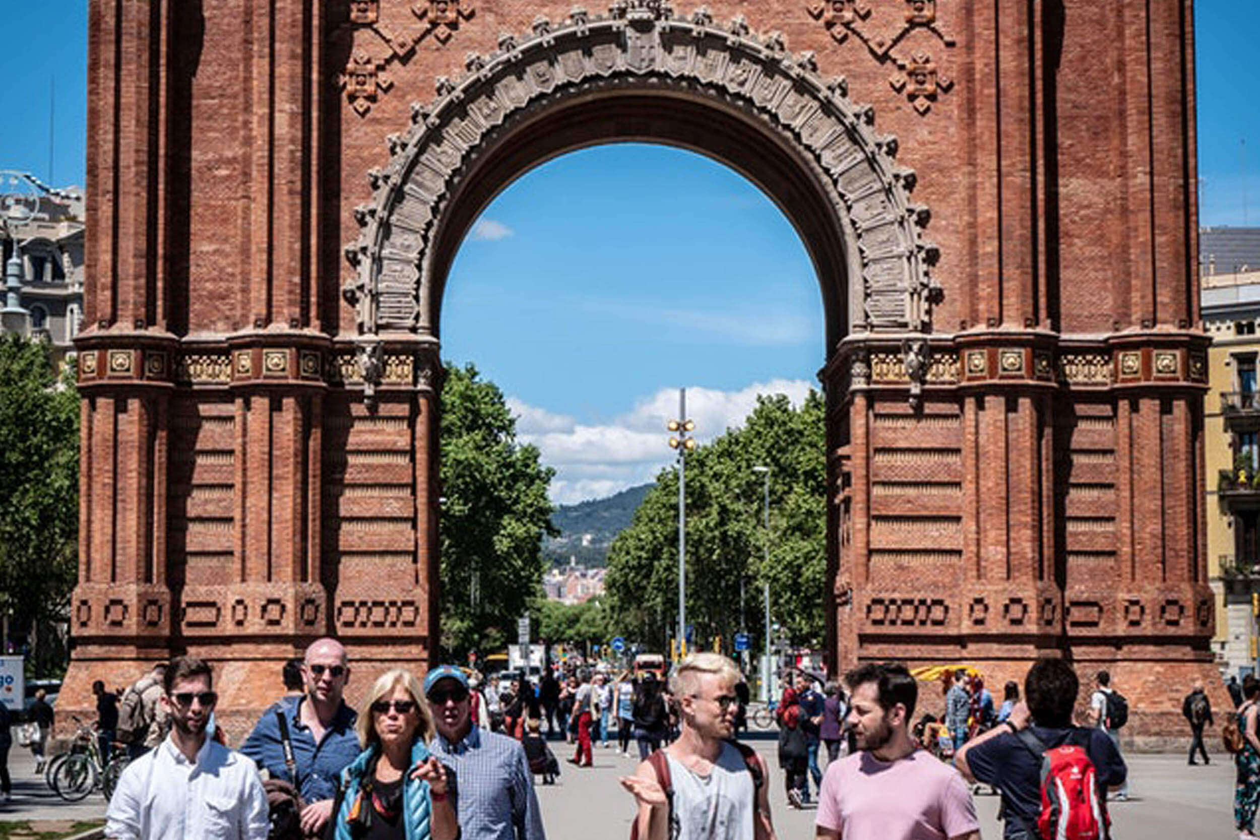 Europarejser til Barcelona