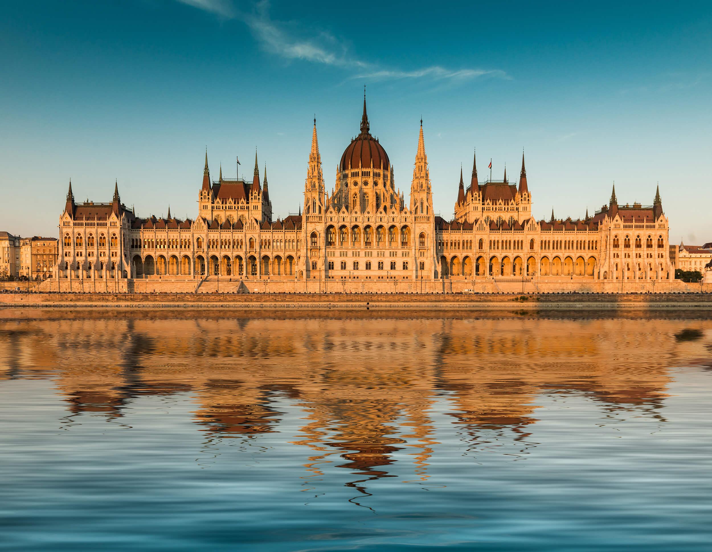 Tag på europarejse til Budapest, Ungarn